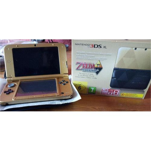 Nintendo 3DS XL Zelda A Link Between Worlds Limited Edition